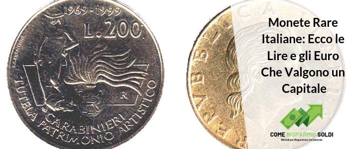 1fb18b458c Monete Rare Italiane: Ecco le Lire e gli Euro Che Valgono un Capitale