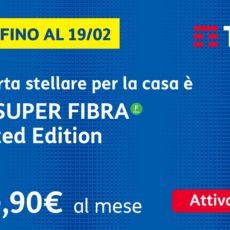 Passa a TIM SUPER: FIBRA, Modem, TIMVISION e Chiamate Illimitate a 29,90€/mese