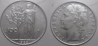100 lire del 1956