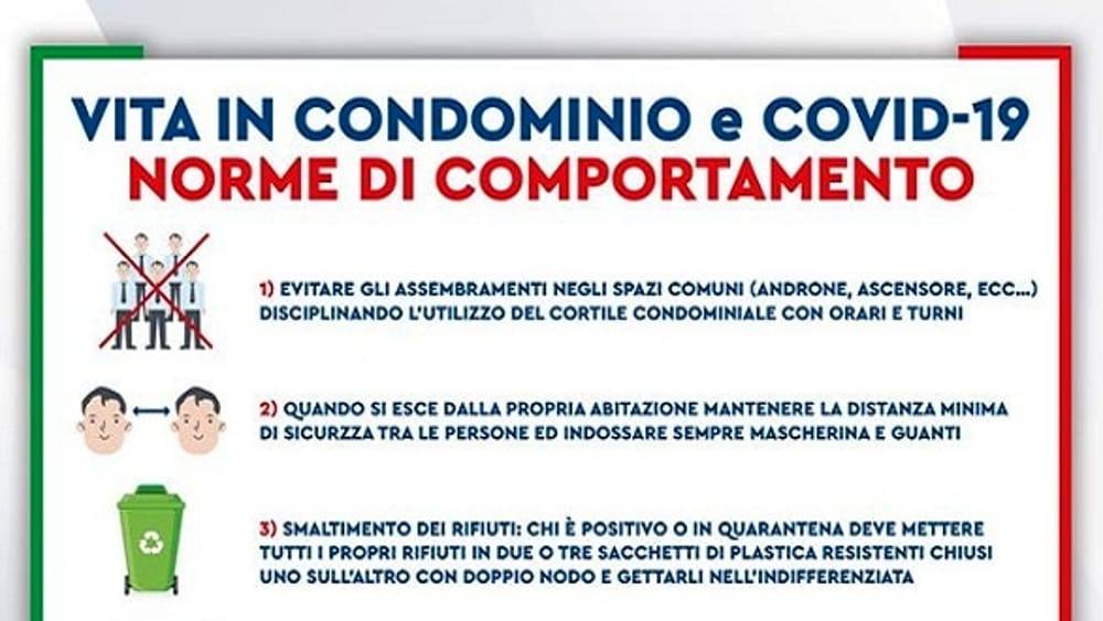 informativa coronavirus condominio