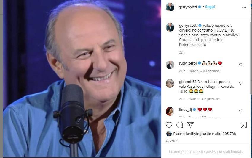 gerry scotti instagram