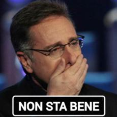 Paolo Bonolis, suo figlio non sta bene