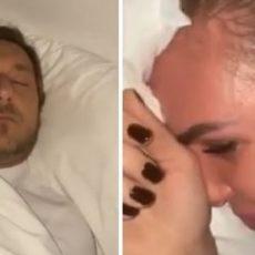 Notte di paura in Casa Totti, Ilary Blasi riprende tutto e lo condivide su Instagram