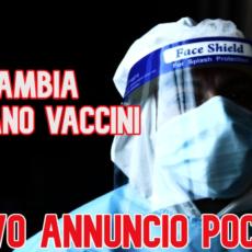 Cambia il piano vaccini