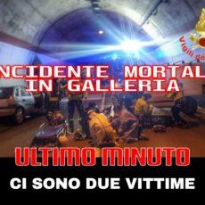 Incidente mortale in galleria