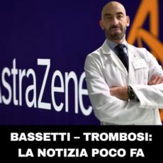 Ultim'ora: Bassetti – trombosi