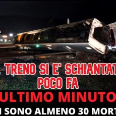 Deraglia treno: almeno 30 morti