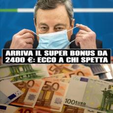 SuperBonus da 2400 euro