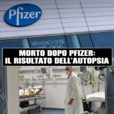 Morto dopo vaccino Pfizer
