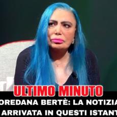 Ultim'ora: Loredana Bertè