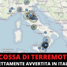 Terremoto al centro Italia