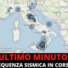 Ultim'ora: Sciame sismico in Italia