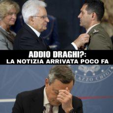 Addio di Mario Draghi