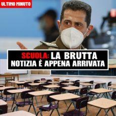 Scuola: la brutta notizia